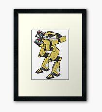 Gortys x Loader Bot Framed Print
