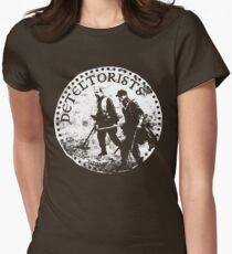 Detectorists - DMDC Anglo Saxon coin Women's Fitted T-Shirt
