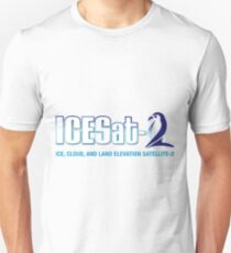 ICESat-2 Logo Optimized for Light Colors Unisex T-Shirt