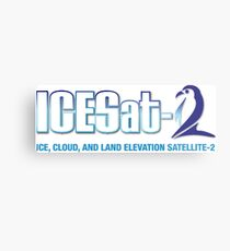 ICESat-2 Logo Optimized for Light Colors Metal Print