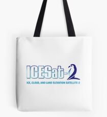 ICESat-2 Logo Optimized for Light Colors Tote Bag