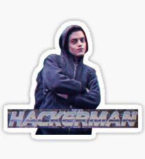 HACKERMAN -Mr Robot  Sticker
