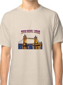 Tower Bridge, London Classic T-Shirt