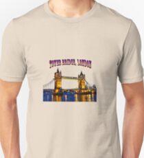 Tower Bridge, London Unisex T-Shirt