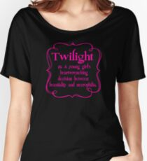 Anti Twilight Women's Relaxed Fit T-Shirt