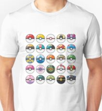 Pokemon Pokeball White T-Shirt