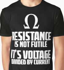 Funny Electrician - Physics T Shirt Graphic T-Shirt