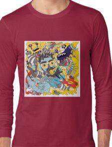 flying underwater Long Sleeve T-Shirt