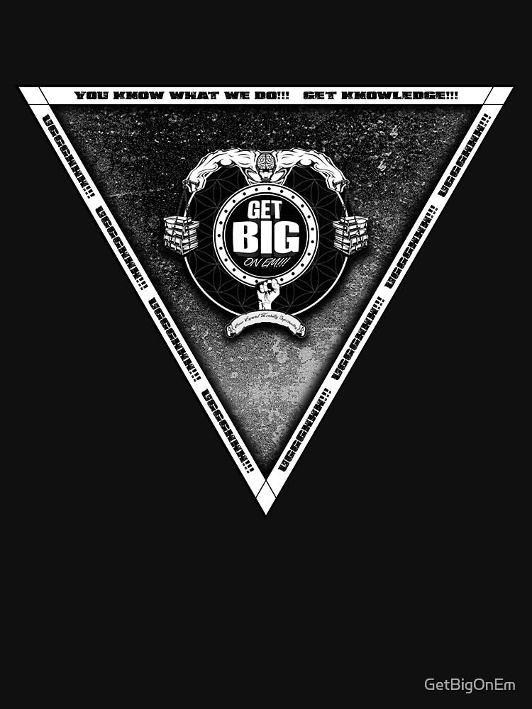 Get Big Pyramid Flip - BLACK by GetBigOnEm