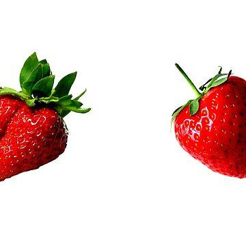 Strawberry Pasties by vampyremuffin