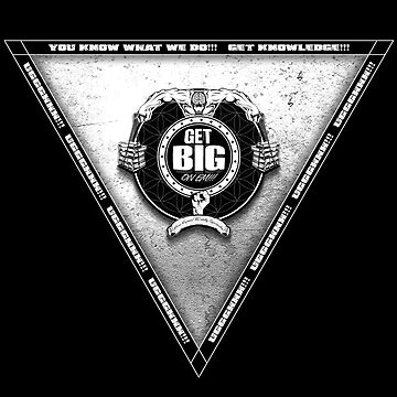 Get Big Pyramid Flip - WHITE by GetBigOnEm