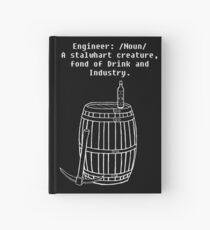 Dwarven Engineering Hardcover Journal