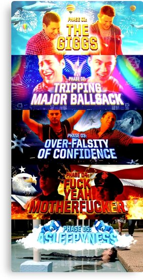 5 Stages of HDF- 21 Jump Street by KnightsOfShame