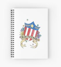 Till The End of the Line Spiral Notebook