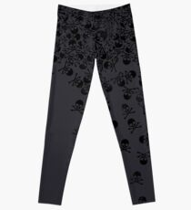 Noctis' Skull and Crossbones Shirt Leggings