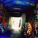 Graffiti Tunnel by KnightsOfShame