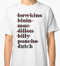 Dutch is Last - Predator Classic T-Shirt
