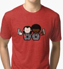 Jules and Vincent- Pulp Fiction Tri-blend T-Shirt