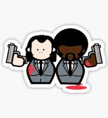 Jules and Vincent- Pulp Fiction Sticker