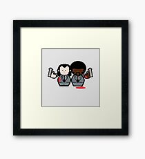 Jules and Vincent- Pulp Fiction Framed Print