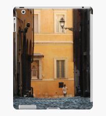 Streetscape in Orange  iPad Case/Skin