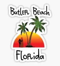 Butler Beach Florida. Sticker
