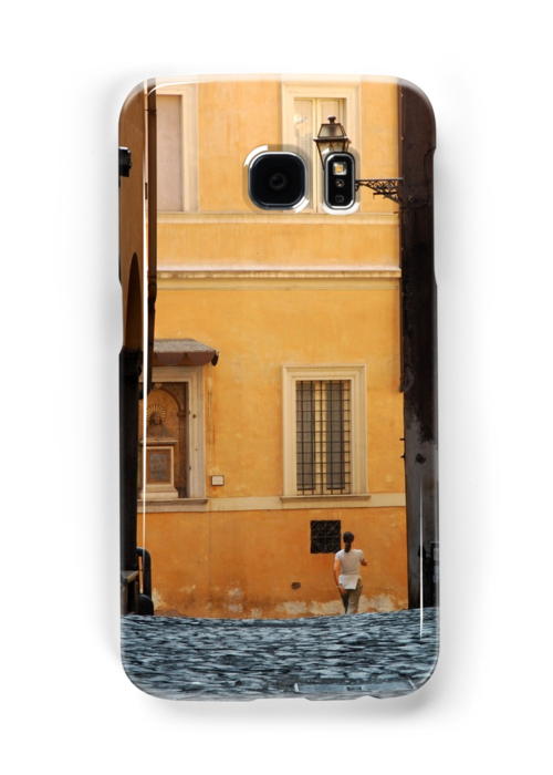 Streetscape in Orange  by Alessandro Pinto