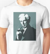 Thinkers - Bertrand Russell (blue) Unisex T-Shirt