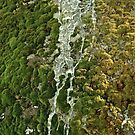 Ombre moss and ice by Trish Peach