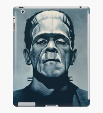Boris Karloff as Frankenstein  iPad Case/Skin