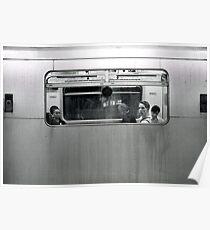 Tube Passenger (Underground, London) Poster