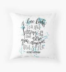 Hepburn Throw Pillow