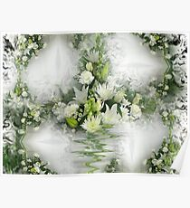 Flowers On The Wall Poster