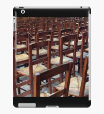 please be seated iPad Case/Skin