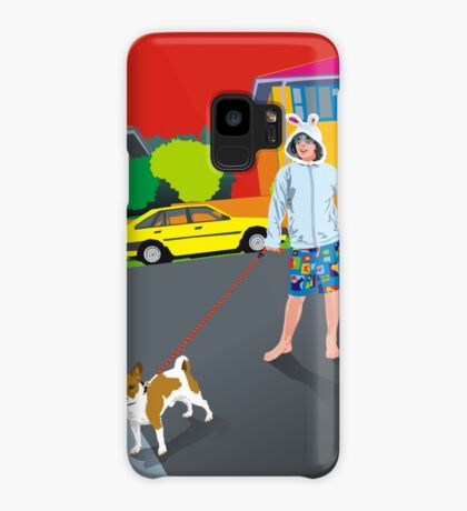 Bob and the Mystery Rabbit Girl Case/Skin for Samsung Galaxy