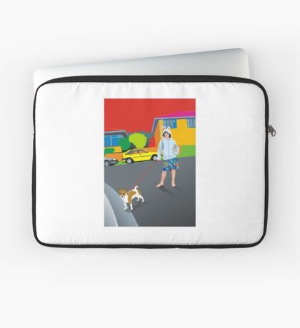 Bob and the Mystery Rabbit Girl Laptop Sleeve