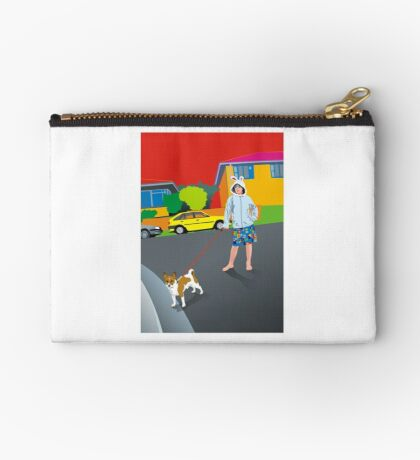 Bob and the Mystery Rabbit Girl Studio Pouch