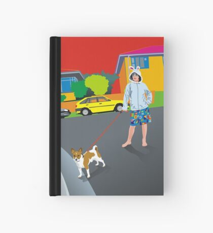 Bob and the Mystery Rabbit Girl Hardcover Journal