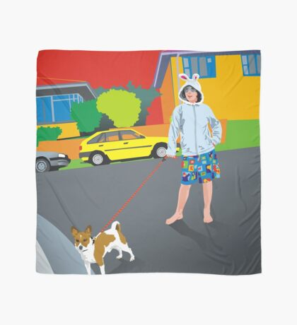 Bob and the Mystery Rabbit Girl Scarf