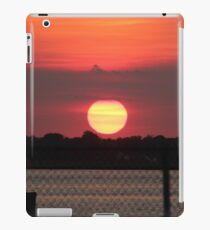 Island Park Big Sun Ball Sunset iPad Case/Skin