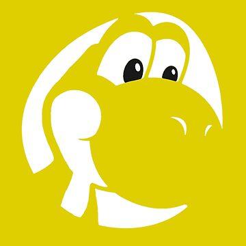 My Friend Yoshi - Yellow by Shannon-Art