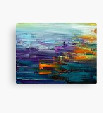 colorful Contemporary by rafi talby Canvas Print