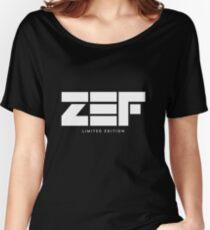 Camiseta ancha para mujer Zef