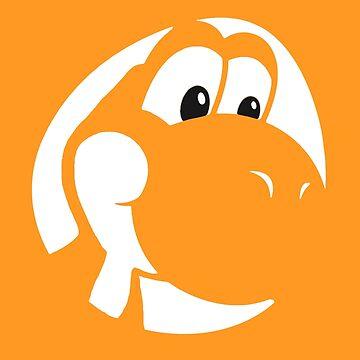 My Friend Yoshi - Orange by Shannon-Art