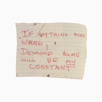 Desmond Hume is my constant -Lost by MatFall