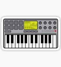 Synth Midi Controller - Retro Grey Sticker