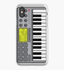 Synth Midi Controller - Retro Grey iPhone Case/Skin