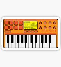 Synth Midi Controller - Orange Sticker