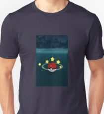 Pokemon Go Poke Ball Stars - Night time Capture T-Shirt