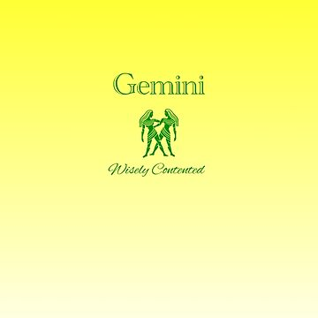 Gemini - Wisely Contented by aurora-belle